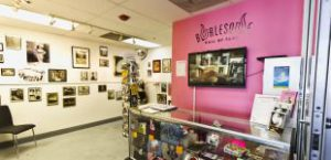 BHoF space at Emergency Arts