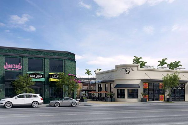 Artist's rendering of First and Main