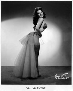 Legendary burlesque performer Val Valentine
