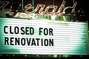 Closed for Renovations 2/18-2/26