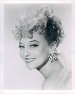 Sally Rand portrait