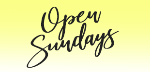 NEW! Sunday hours starting Dec. 30