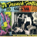 """Poster for """"French Follies"""" starring Val de Val"""