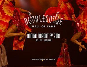 BHoF FY2018 Annual Report