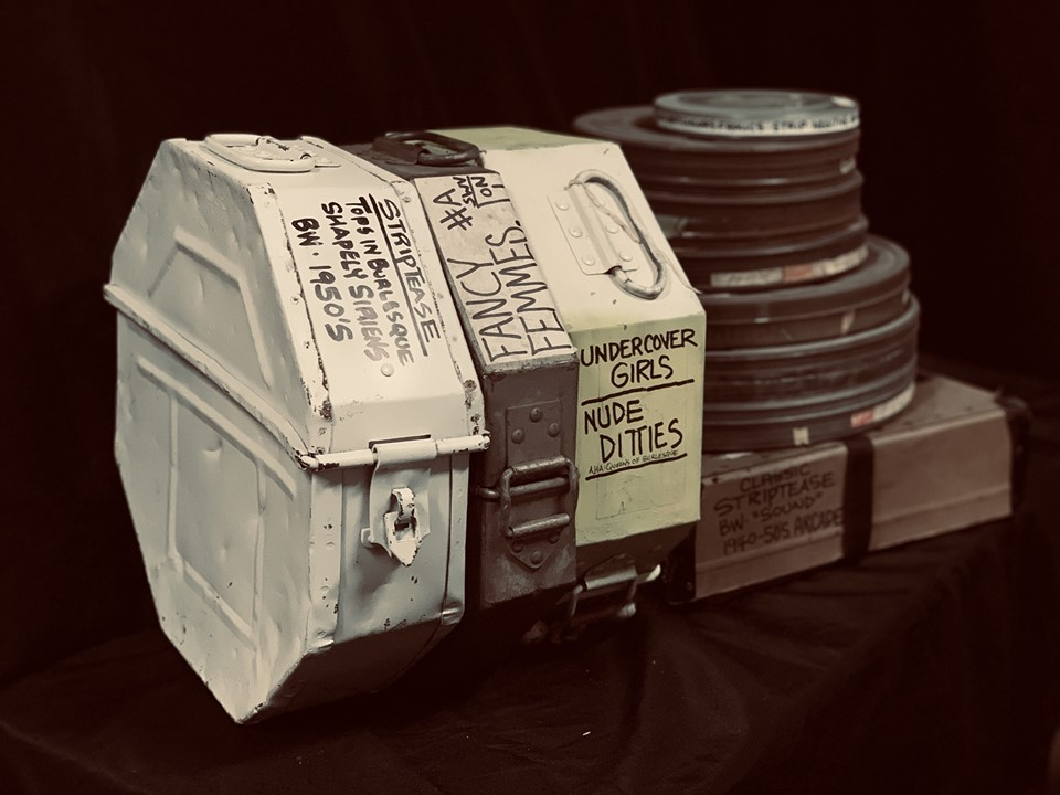 Film cans from BHoF's collection