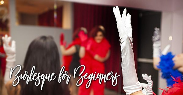 Burlesque for Beginners class at BHoF