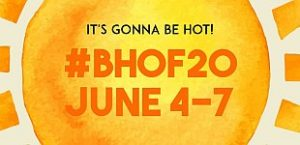 Sun with information about the 2020 BHoF Weekender, June 4-7, The Orleans, NV