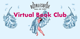BHoF Virtual Book Club; image shows an illustrated fan dancer