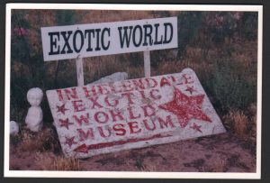 Exotic World Grounds Sign 2010.20.002