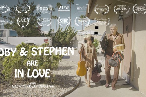 "Promotional Poster for ""Coby and Stephen Are In Love"""