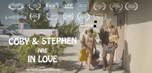 """Promotional Poster for """"Coby and Stephen Are In Love"""""""